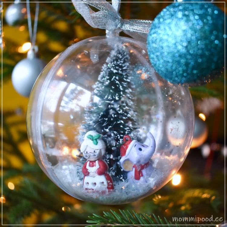 Jõulukuul memme ja elevandiga