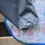 Montessori pikkade varrukatega põll, jälgi pea ümbermõõtu!