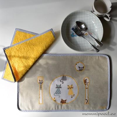 Montessori söömiskomplekt, KASSID